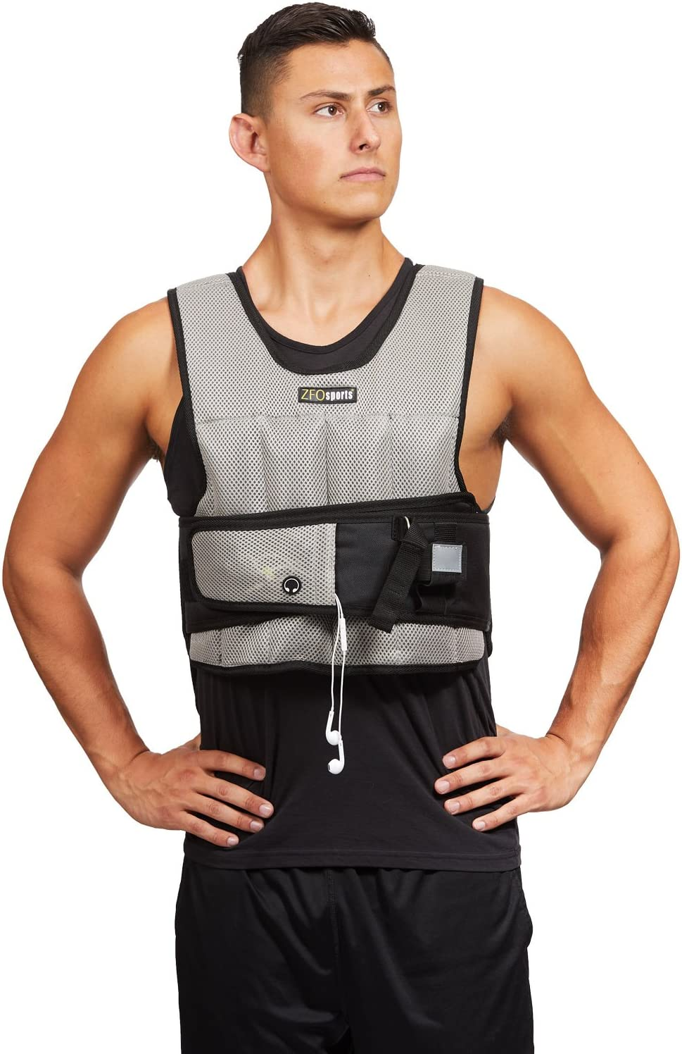 ZFOsports Short Adjustable Weighted Vest 20