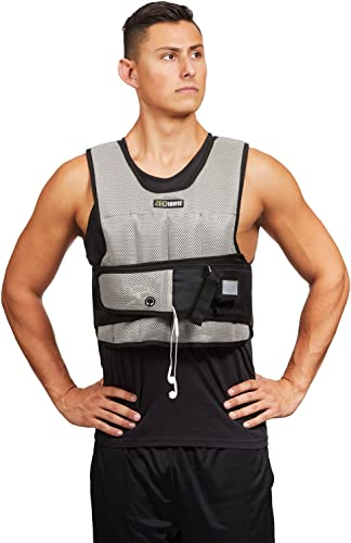 ZFOsports Short Adjustable Weighted Vest 20