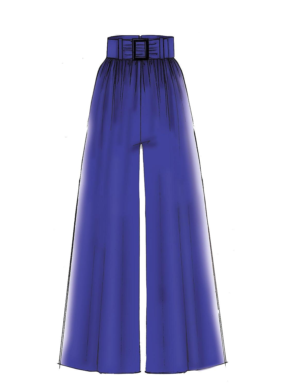 2c658309f MCCALL s Patterns 7661/ E5/ de Costura para Pantalones Patrones de ...