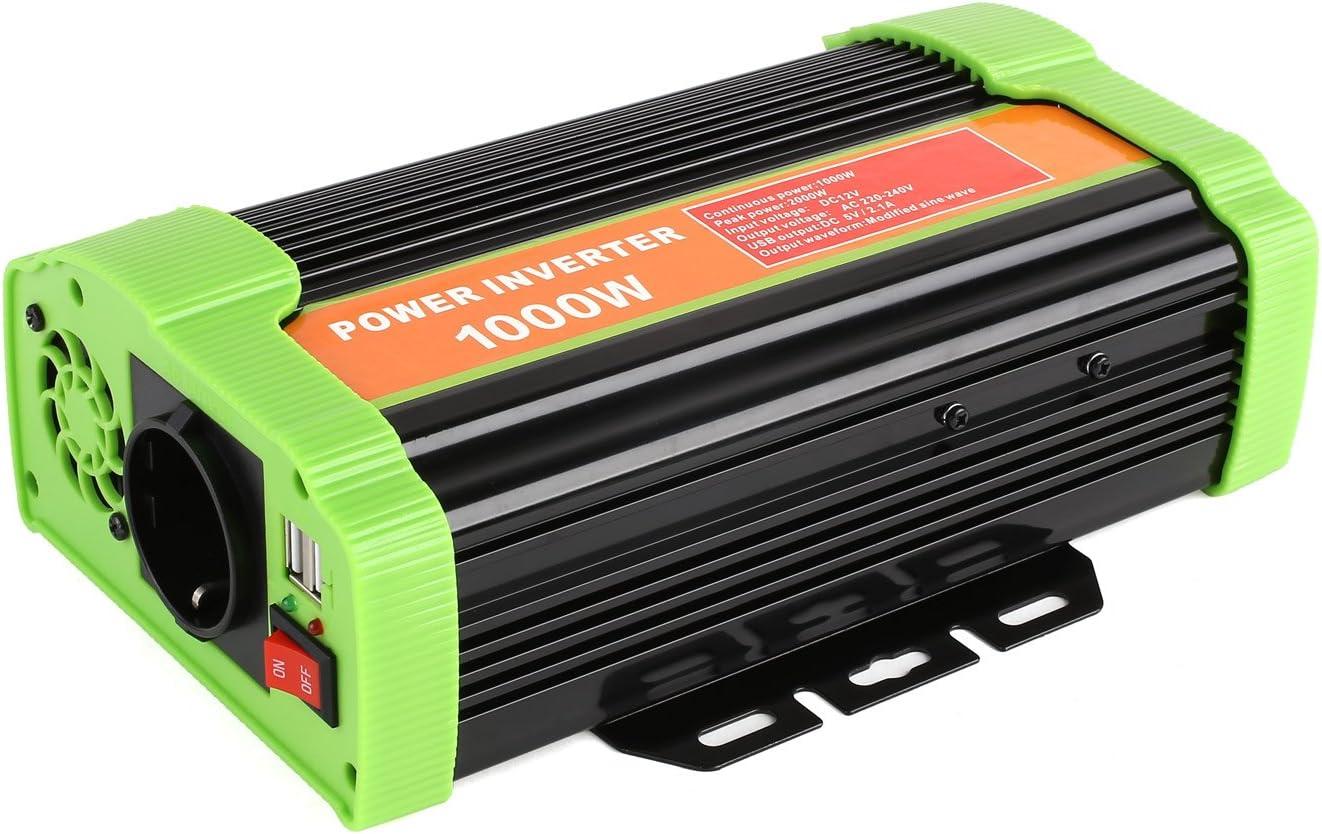 UNBQ Convertisseur de Puissance photovolta/ïque 12 V /à 220 V pour Voiture 10 000 W