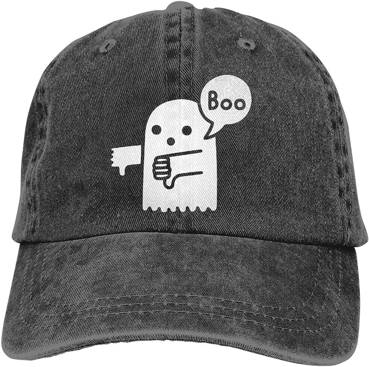 Ghost of Disapproval Unisex Custom Cowboy Hip Hop Cap Adjustable Baseball Cap