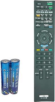 qinyun rm-yd038 mando a distancia para televisor Sony Bravia HX909 con retroiluminación LED LCD 3d Ready HDTV br-46hx909 XBR-52HX909: Amazon.es: Electrónica