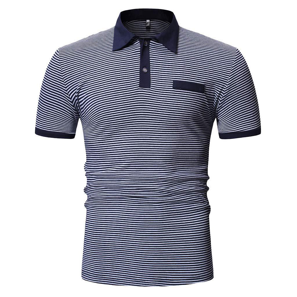 Tee Shirt Homme Ete T-Shirt Tops Manche Courte Mode Bonjouree