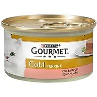Purina - Gourmet Gold Tarrine Salmón - Pack de 24 x 85 g - Total 2040 g