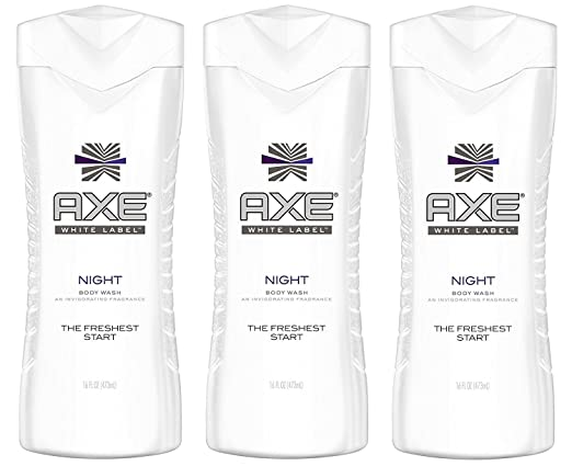 Axe White Label Body Wash - Night - Net Wt. 16 FL OZ (473 mL) Each - Pack of 3