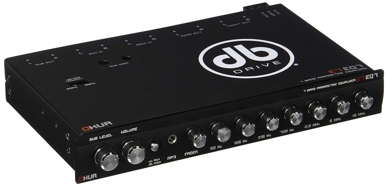 DB DRIVE Okur Series 7-band Parametric Equalizer Petra E7 EQ7
