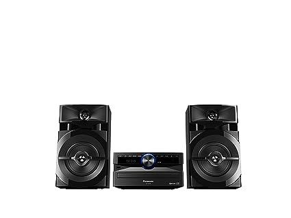 a3739d92c21 Amazon.com  Panasonic SC-UX100 CD   USB Wireless Bluetooth 300W Mini ...