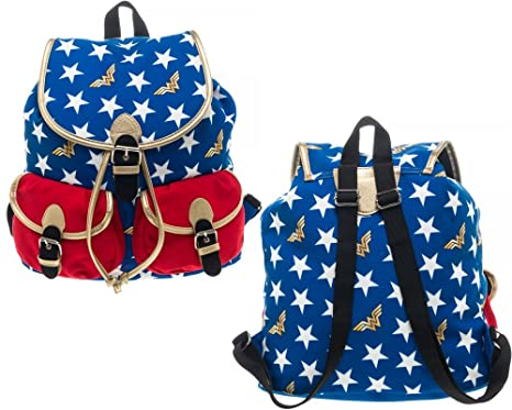 a1b0ac70b7 Image Unavailable. Image not available for. Color: DC Comics Wonder Woman  Knapsack