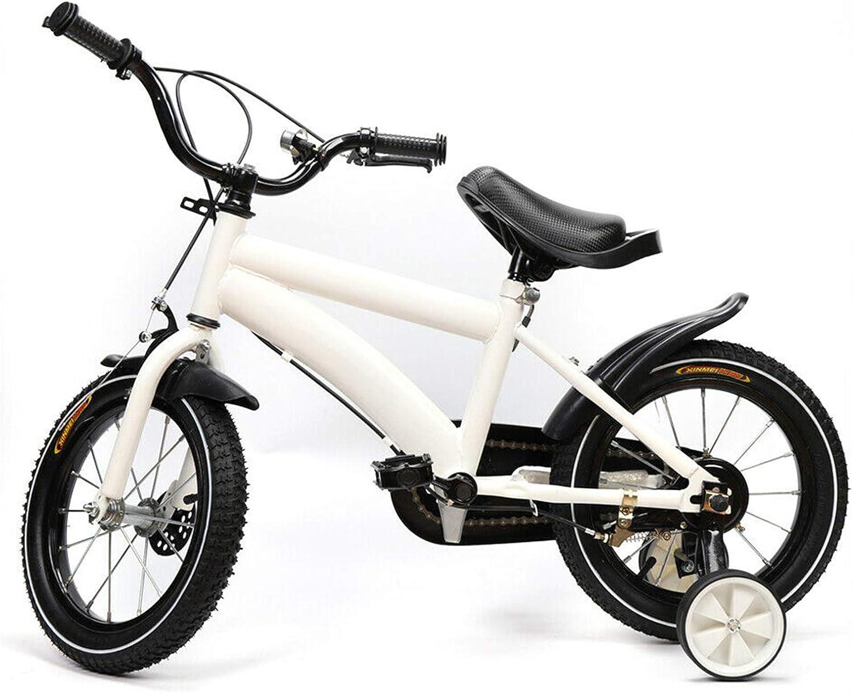 Kaibrite Bicicleta infantil de 14 pulgadas, con ruedines de apoyo (rueda auxiliar resistente al desgaste, antideslizante y resistente al desgaste)
