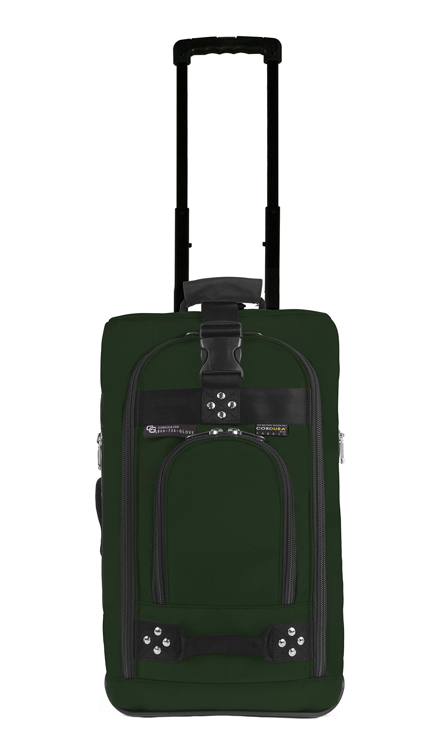 Club Glove Carry On Bag III Travel Luggage (Green)
