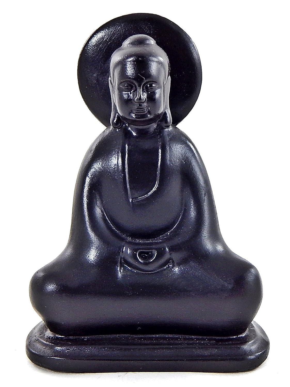 Lucky buddha statue japanese zen buddhist monk sculpture for Does buddha bring good luck