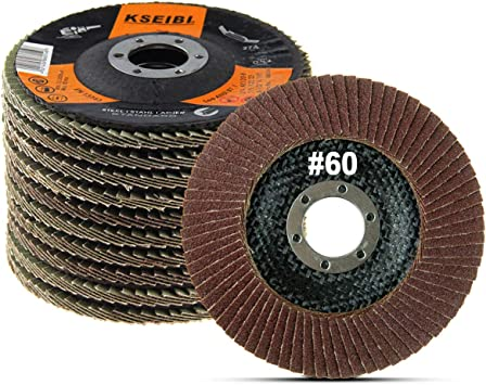Coceca 20pcs Flap Discs Sanding Grinding Wheels 4-1 2 Inches for Angle Grinder,