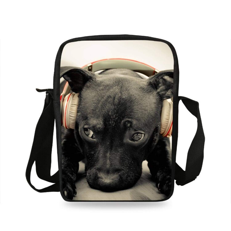 Kids Small Shoulder Bag for Women Casual Zoo Animal Print Cross Body Cute Messenger Bag Boys Girls Schoolbag,7S913