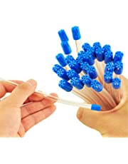 Denshine 100pcs New Dental Disposable Saliva Ejector Low Volume Suction Aspirator Tube