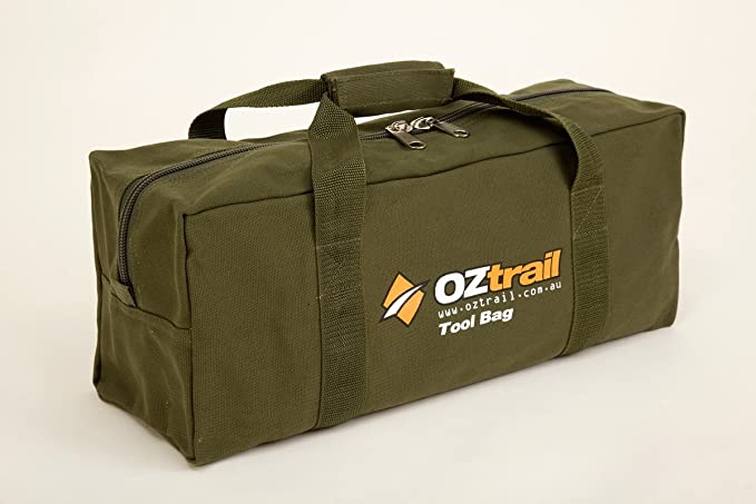 Oztrail - Canvas Tool Bag BPC-TOOL-D 46x18x15 cm Heavy-Duty Canvas Tool Bag ac5ca04dffaa5