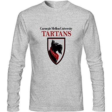 more photos f1436 6e75e Amazon.com: Carnegie Mellon University Tartans Men's Long ...