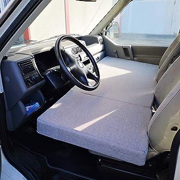 KFoam.es Colchón Plegable Cama Delantera Camper para Volkswagen T4, T5 y T6: Amazon.es: Coche y moto