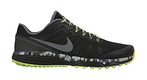 best service 49acd f13dd Image Unavailable. Image not available for. Colour  Nike Men s Dual Fusion  Trail 2 Running Shoe Black Cool ...