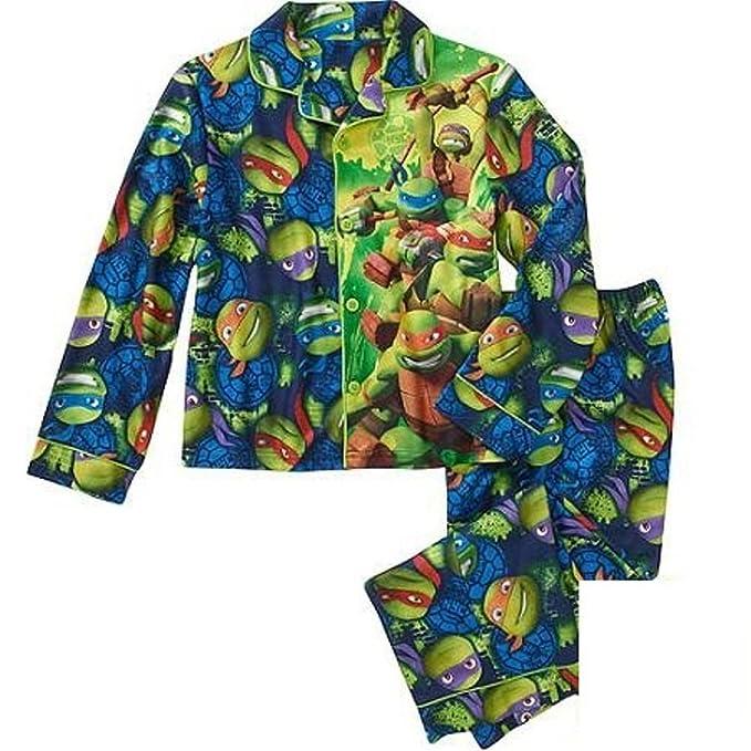 Amazon.com: Ninja Turtles Big Boys Coat pijamas Green, Verde ...