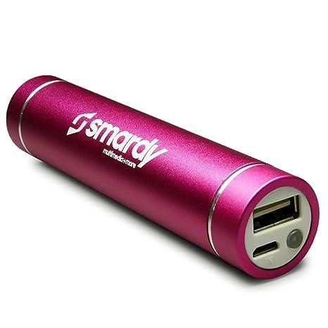 Cargador de Batería Externo USB con Carcasa de Aluminio ...
