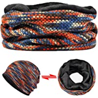 AMOH JERCY Multifunctional Slouchy Beanie, Scarf, Mask, Face Covering, Skull Cap for Daily Protection & Outdoor…