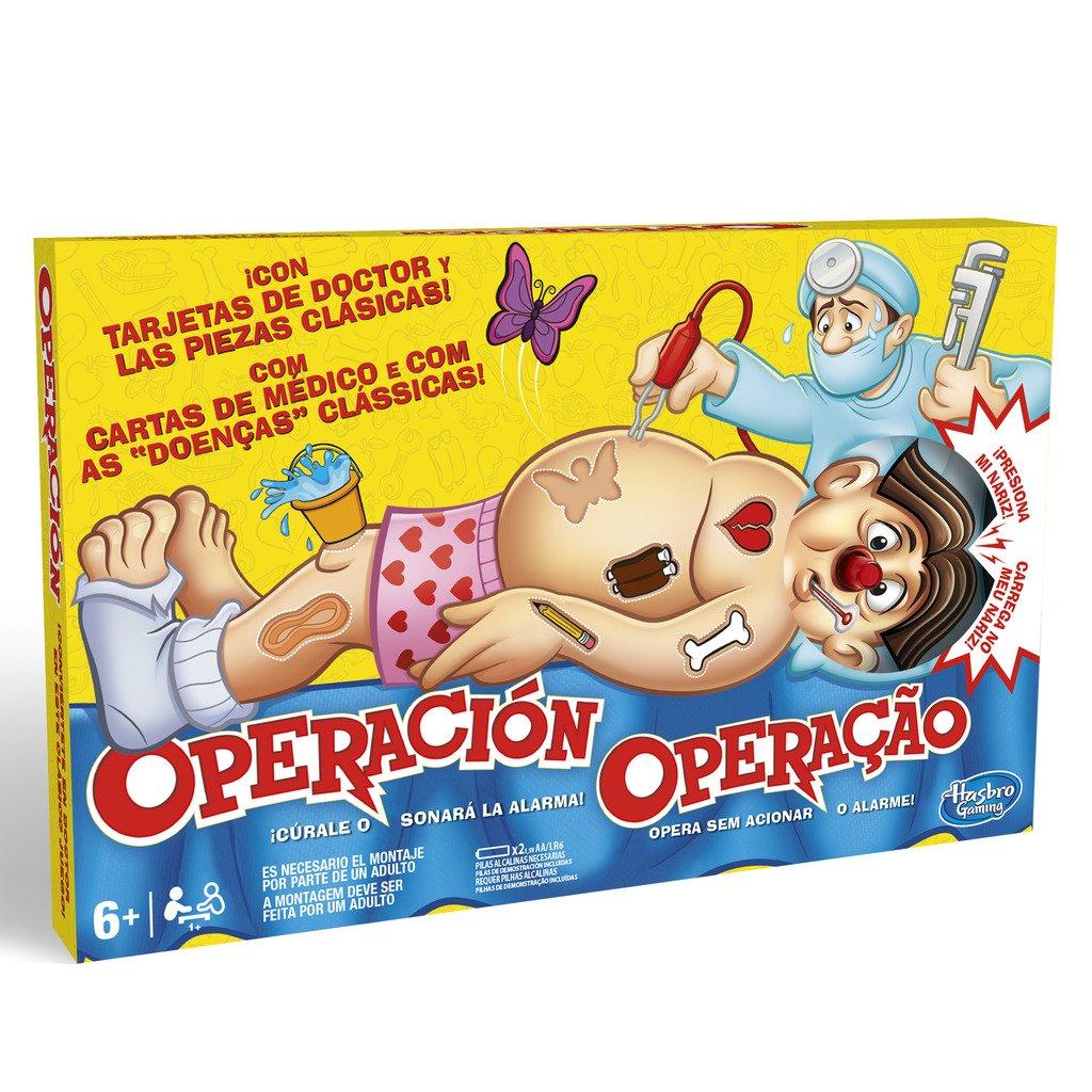 Hasbro Gaming B2176B09 Operación - Juego para niños, 6+ años: Amazon.es: Libros