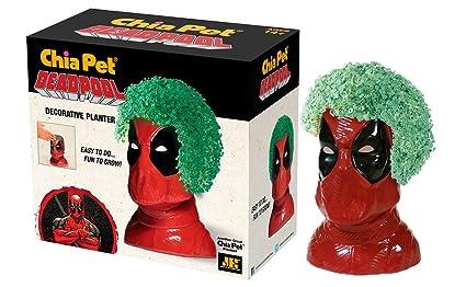 Amazon Com Chia Pet Deadpool Marvel Decorative Pottery Planter
