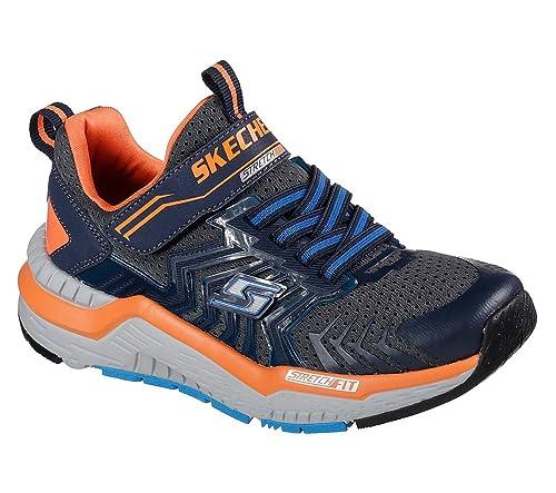 e9c1afb18290 Skechers Hyperjolt Nitropulse Boys Trainers  Amazon.co.uk  Shoes   Bags