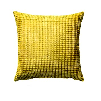 Amazoncom Ikea Cushion Throw Pillow Gullklocka Yellow Cover 20 X