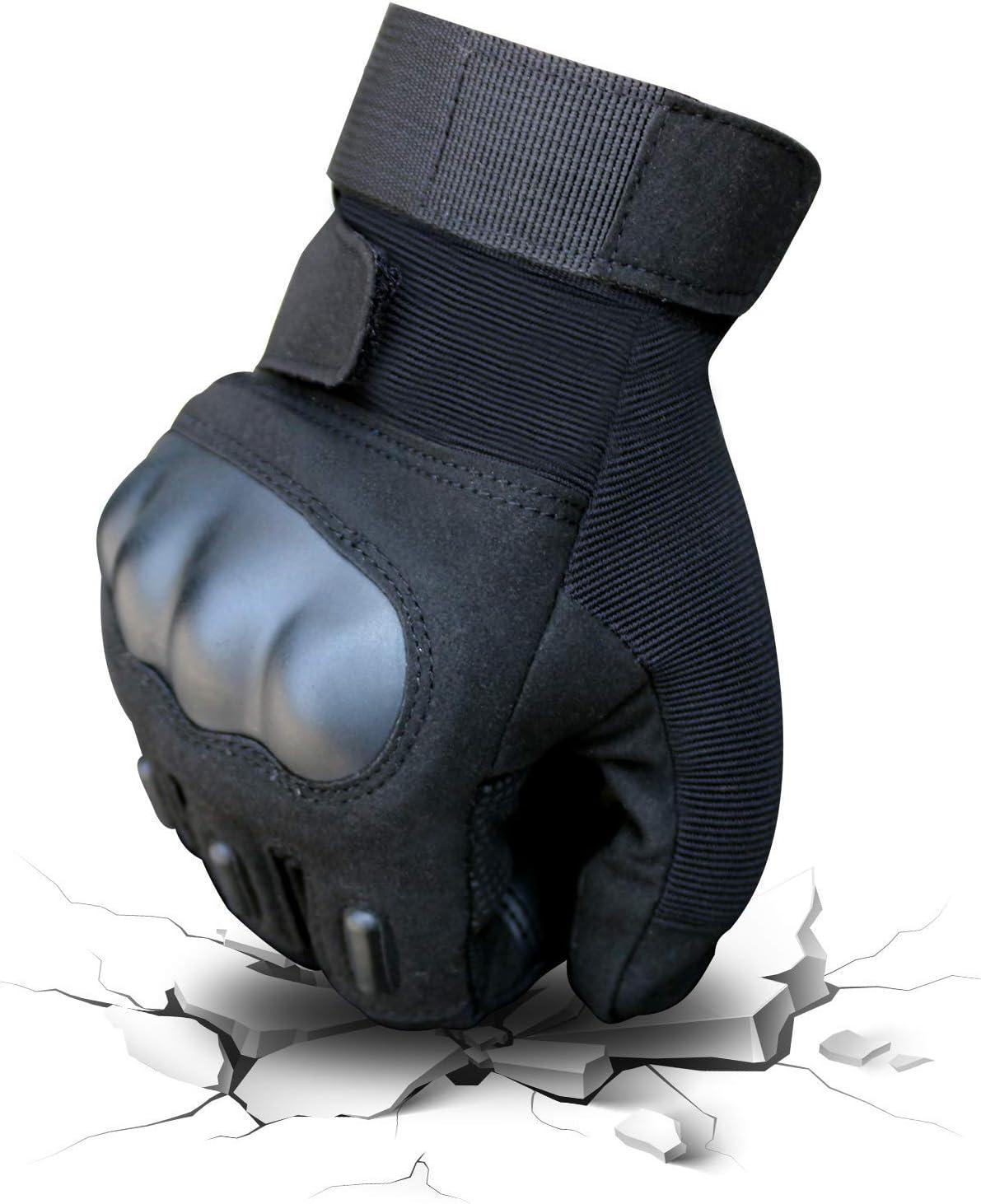 Motorrad Schie/ßen YEVHEV Taktishce Handschuhe mit Kn/öchelschutz Vollfinger Milit/äre Touchscreen Armee Motorradhandschuhe Leichte Motorrad f/ür Jagd Wandern,Outdooraktivit/äten Radfahren