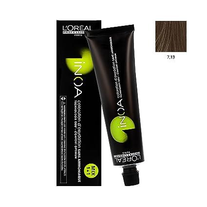 Loréal paris - L oréal inoa 60 gr 7.13 – rubio ceniza dorado