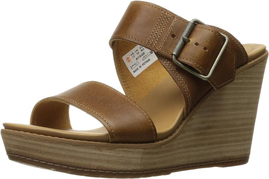 58ef50464daf1 Timberland Women s Brenton Buckle Slide Sandal