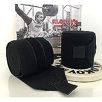Klokov kniebraces voor gewichtheffen, krachttraining, powerlfting, strongmen en crossfit