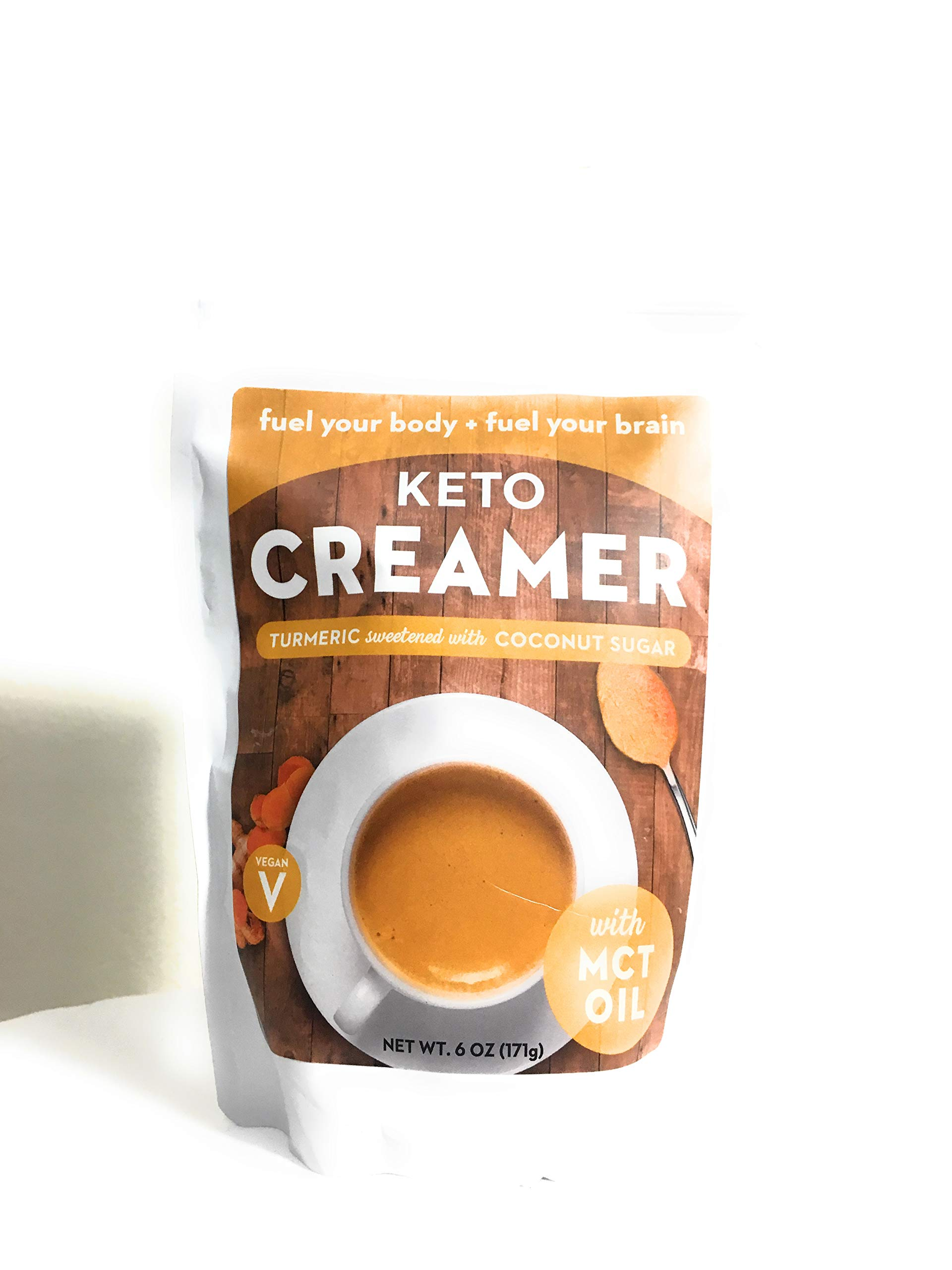360 Nutrition Keto Creamer with MCT Oil Turmeric Sweetened with Coconut Sugar by 360 Nutrition (Image #1)