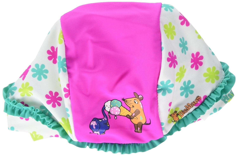 Badem/ütze Die Maus Blumen Cappellopello Bambina Playshoes UV-Schutz Kopftuch