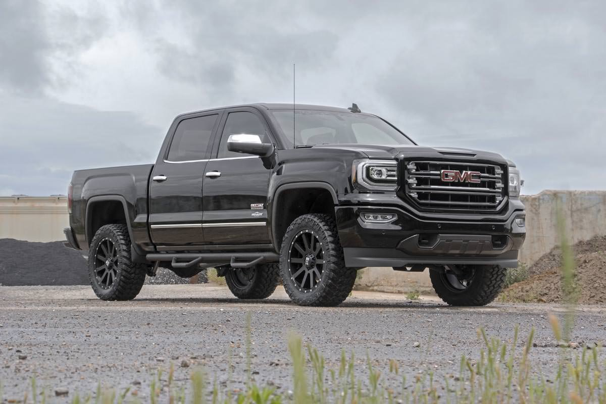 All Chevy chevy 1500 leveling kit : Amazon.com: Rough Country - 19430 - 3.5-inch Suspension Lift Kit ...