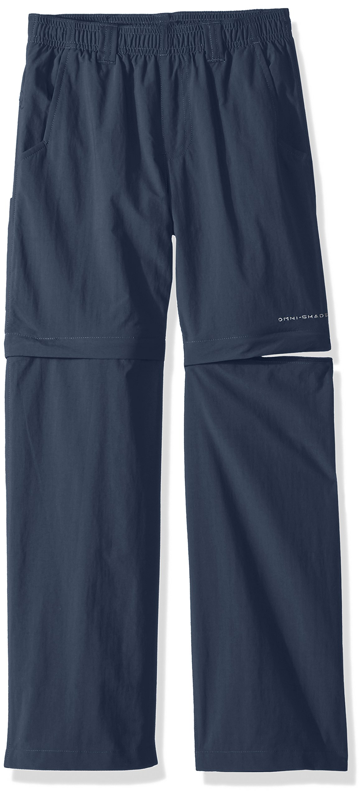 Columbia Little Boy's Backcast Convertible Pants, XX-Small, Dark Mountain