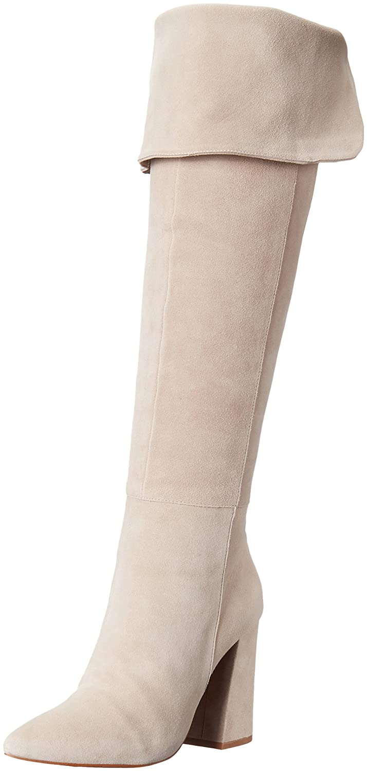 Chinese Laundry Kristin Cavallari Women's Saffron Over The Knee Boot B01FOM5US0 7.5 B(M) US|Grey Suede