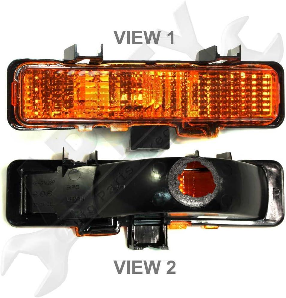 Front Side Marker Parking Signal w//Fog Light Right RH for S10 Blazer S15