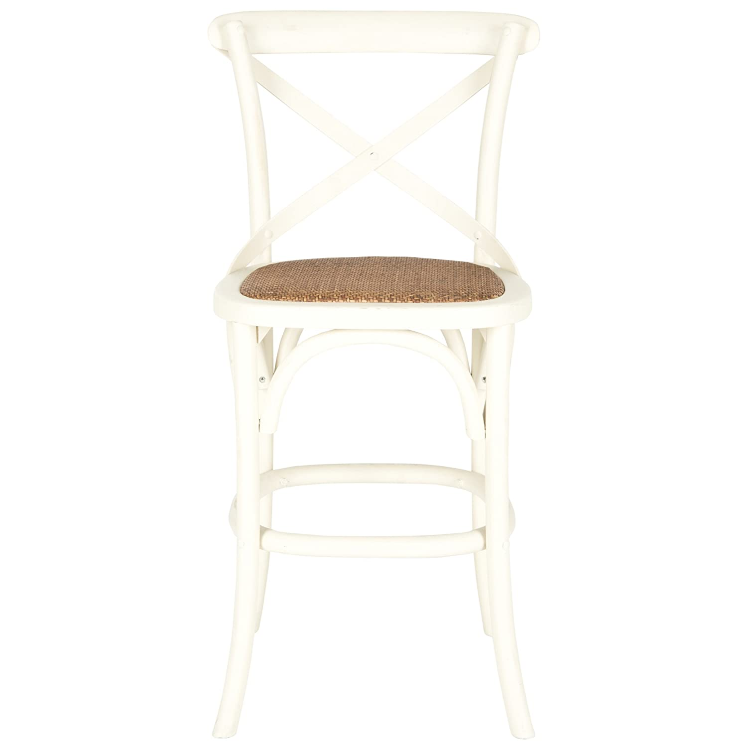 Safavieh American Homes Collection Franklin Counter Stool, Antique White