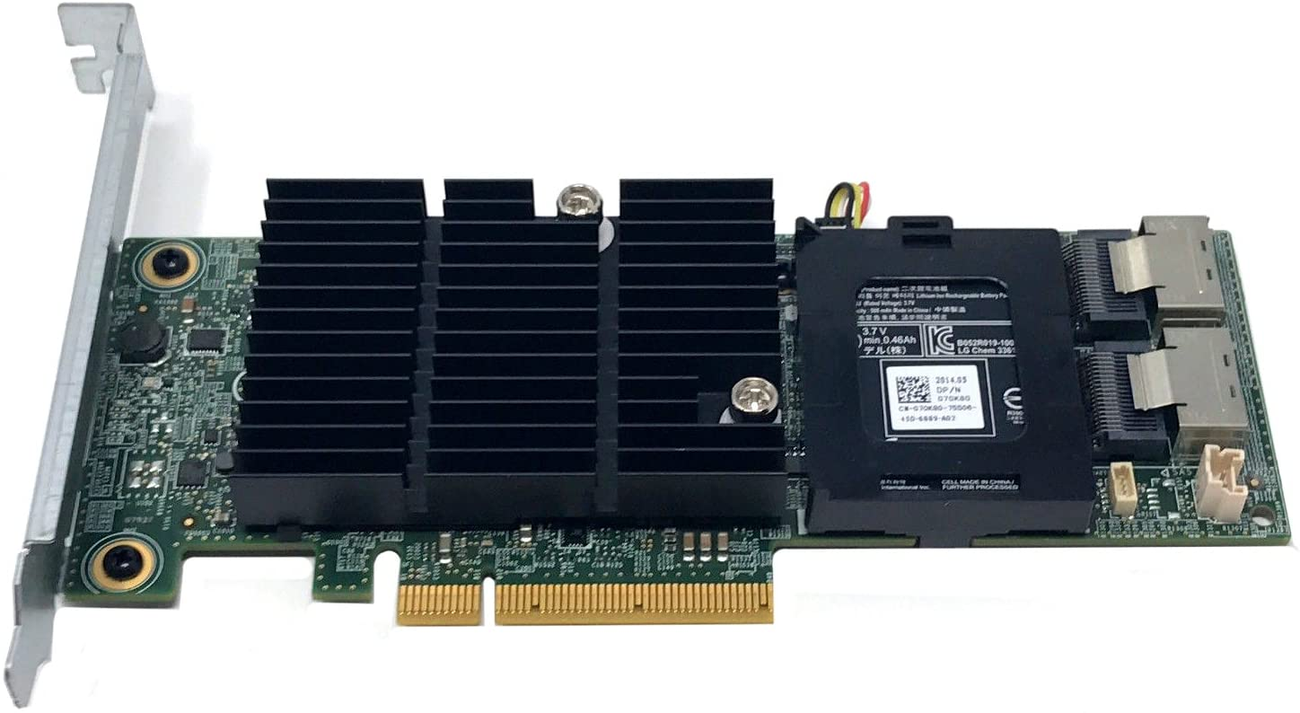 DELL VM02C PERC H710 PCIe RAID CARD, 512MB NV CACHE FULL HT