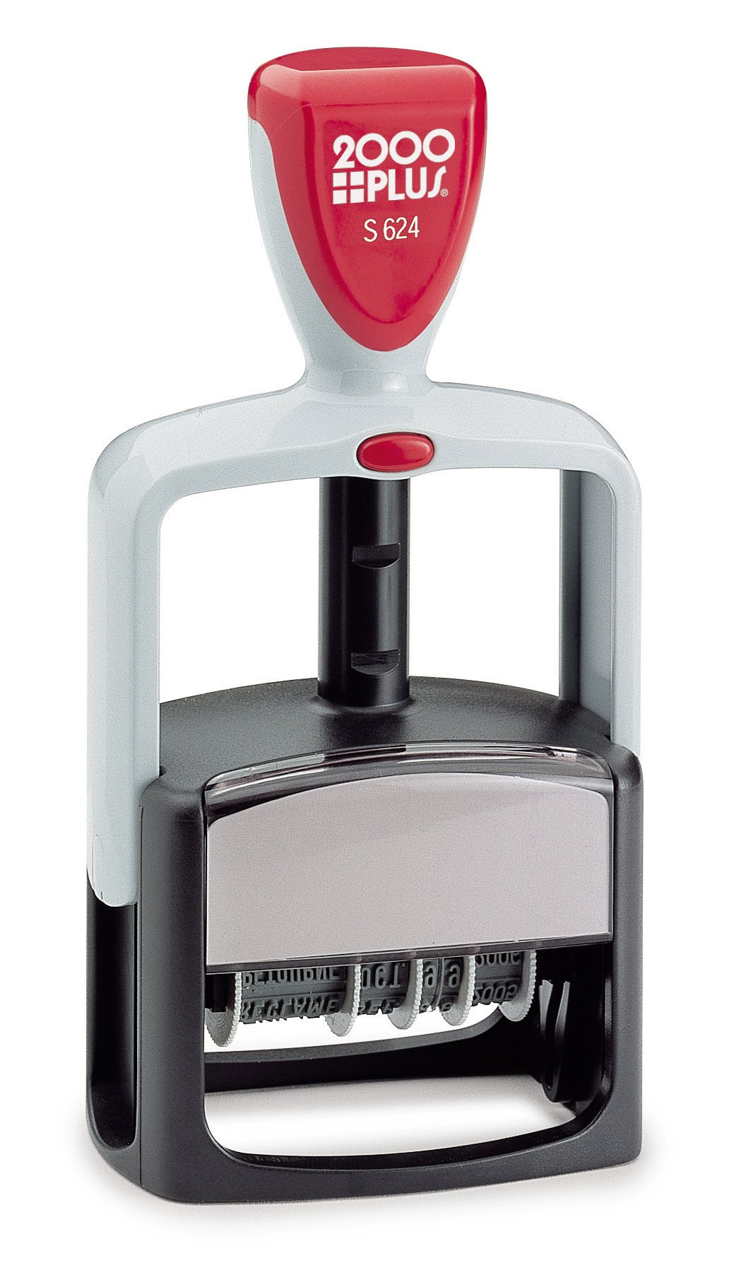 Cosco(R) Self-Inking Date And Phrase Stamp, Type Size #2