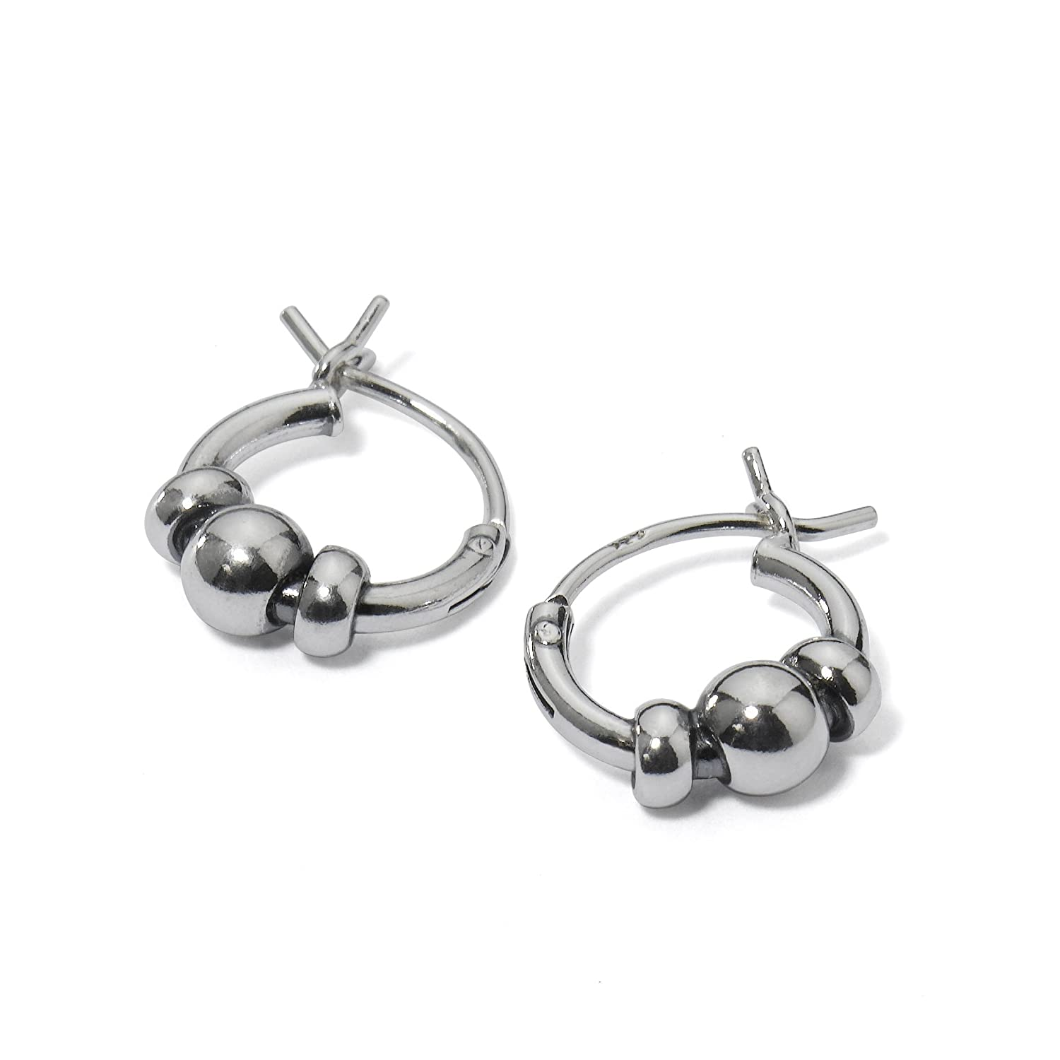 Sterling Silver Endless Earrings Unisex Image 1