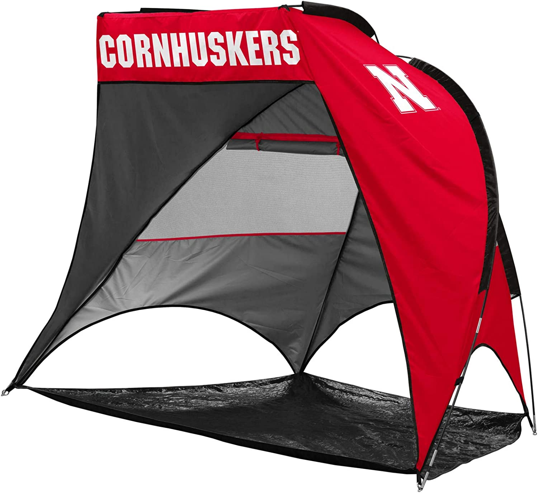 Logo Brands NCAA Nebraska Cornhuskers Unisex Adult Retreat Cabana Tent Multicolor One Size