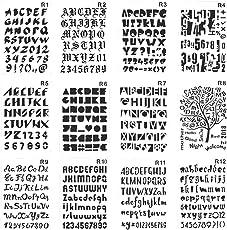 stencils templates shop amazon com