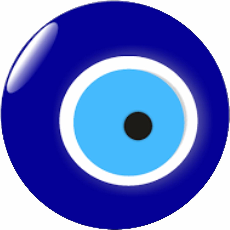 10 PCS Nazar Deko Sticker Türkisches Magisches Auge für Kennzeichen evil eye