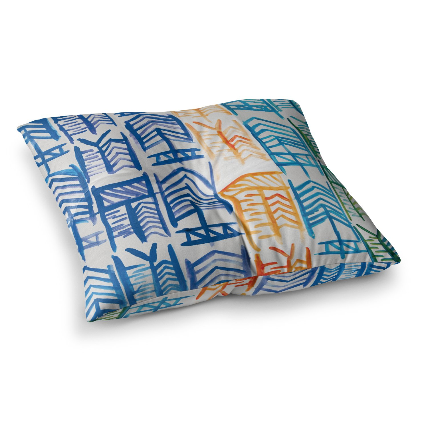 Kess InHouse Theresa Giolzetti Quiver II, 23' x 23' Square Floor Pillow