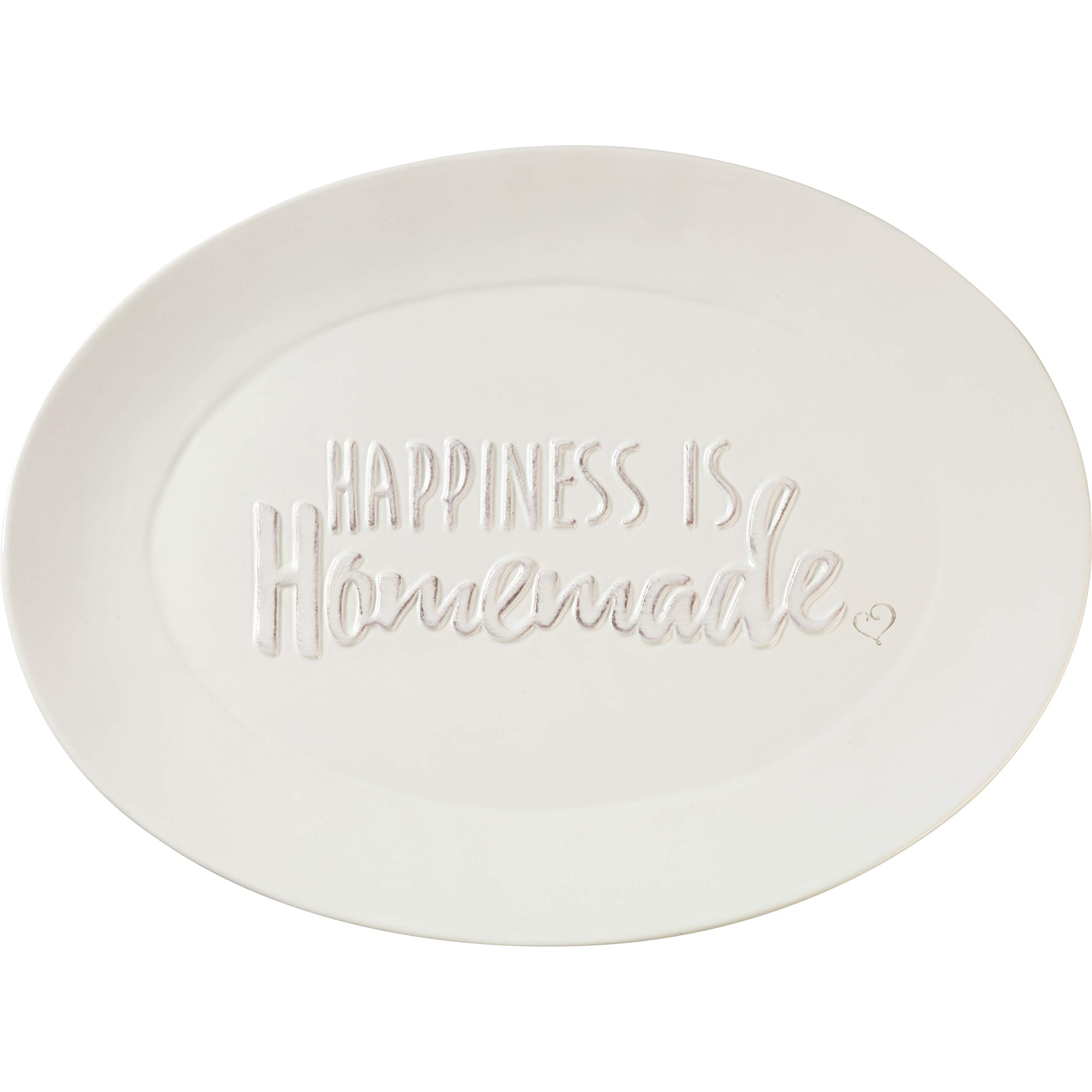 Precious Moments Bountiful Blessings Happiness Is HomemadeCeramic Serving Platter 13 x 9.5 inches 182423