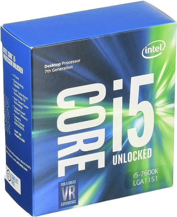 Intel Core I5 7600k Prozessor Der 7 Generation Computer Zubehör