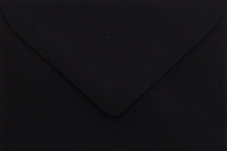 briefumschlaege24Plus 25Buste Mini Nero 5,1x 7,0cm chiusura con gommatura umettabile, grammatura 120G/M² 1x 7 0cm chiusura con gommatura umettabile grammatura 120G/M² Briefumschläge24Plus